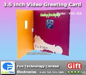 Buy Best Holiday Gifts 3.5 Inch Oem Video Cards Ram Avi Mp4 Players Ecards Fun Electronics