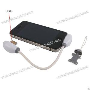 Mini 5 Pin Sd Card Reader Data Transfer Cable For Iphone