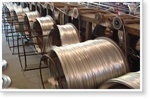 galvanized wire coil