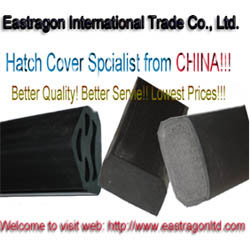 ship hatch cover rubber sponge solid packings
