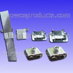 mowco stainless steel buckles wing seals