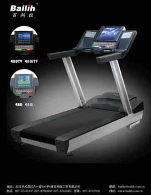 motorized treadmill 480itv