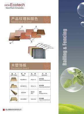 wpc profiles decking railing landscape plastic lumber pvc wood composites