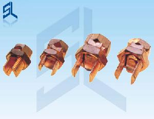 imported t j copper bolt connectors