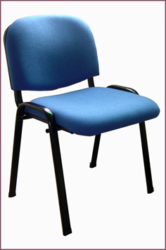 fabric chair iron base school office