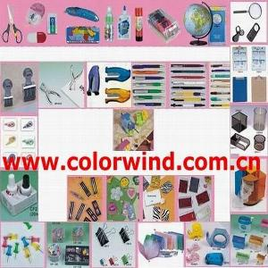 stationery stapler sharpener punch acrylic stamp pen pencil notebook diary