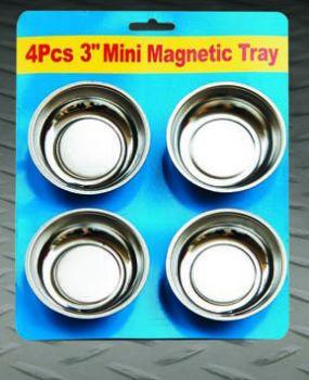 4pcs 3 magnetic tray
