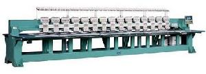 multi head flat embroidery machine
