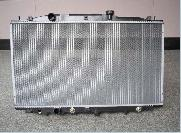 aluminium radiator condenser intercooler applied automobile construction machine farm machi