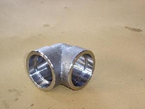 sw elbow pipe fitting stainless steel carbon metal alloy
