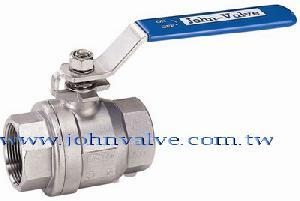 john valve threaded ball