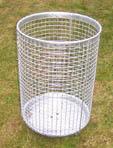 wire mesh bins