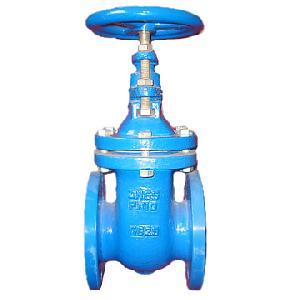 cast iron gate valve din 3352 f4 rising stem