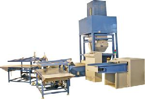 pillow cushion weighing filling line