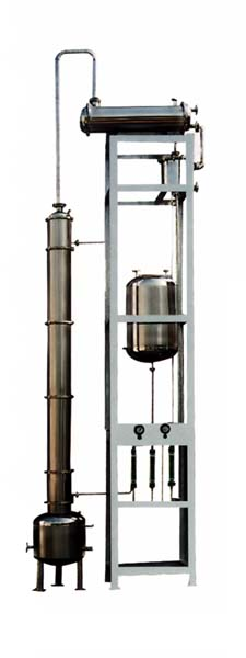 Alcohol Recycle Device For Diluted Alcohol Recycle In Such Industries As Pharmacy, Food, Chemistry