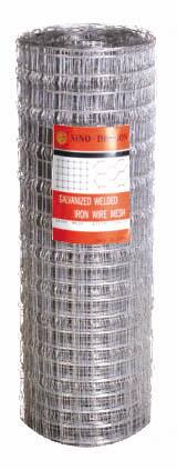 pattern electrowelded mesh