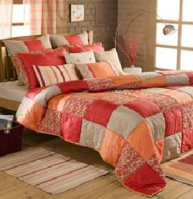 Indian Home Furnishing Manufacturer And Exporter, Bed Sheet, Curtains, Cushion Cover, Pillow, Rugs