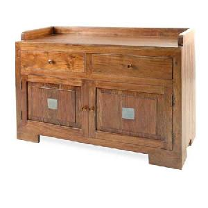 indian wooden box drawer chest side board exporter furniture