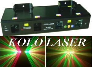 green laser light stage show disco dmx dj pro