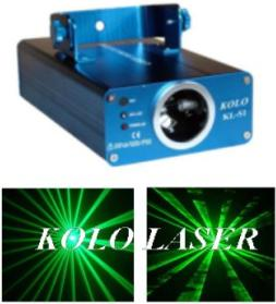 30mw kl s300 green laser light stage show disco