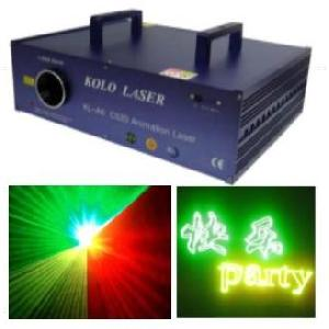 260mw kl a6 c425 tri animation laser light stage disco dmx ilda dj pro