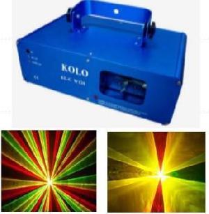 260mw rgy tri laser light stage show disco dmx dj pro