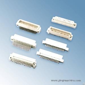 4163 din 41612 triple row connector