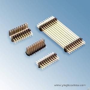 Pin Header 1.27 Dual Row 1281 Connectors