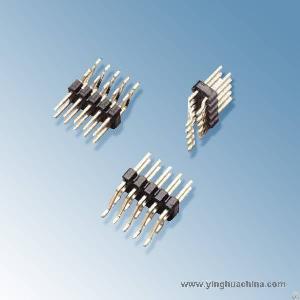 pin header 2 54 horizontal smt dual row h 6 1