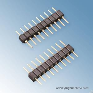 Pin Header 2.54 Side Entry Smt Type Single Row H 2.5 2107 Connectors