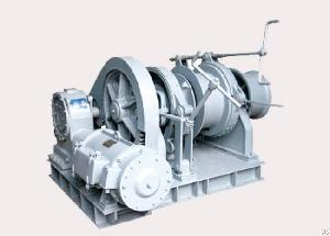 electric drum mooring winches