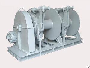 hemi hydraulic multiple drum mooring winches