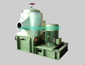 upflow pressure screen stock preparation paper machine