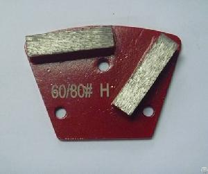 60 80 grit hard bond polishing disc metal 2seg