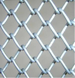 galvanized chain link fence 58