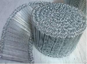 galvanized loop tie wire