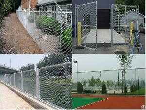 pvc coated chain fencing