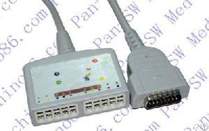 ge hellige microsmart ecg cable