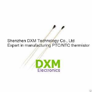 bead enameled cu wire coating precision ntc thermistor mf52e