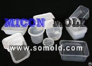 Plastic Injection Mould / Mold, Food Container Mould