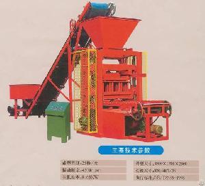 block molding machine