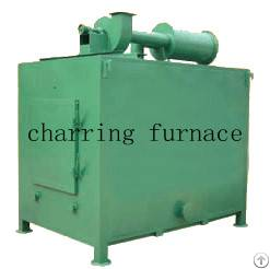 charcoal rods charring furnace