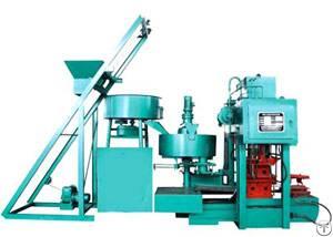 hydraulic press tile machine