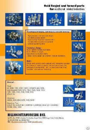 forged cnc turned components malaysia