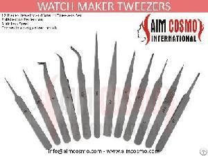 watch maker tweezers