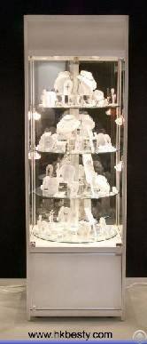 3 jewelry display showcase