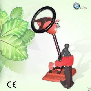 Patented Portable Vehicle Driving Simulator
