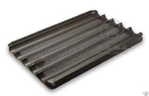 5 rows baguette tray non stick