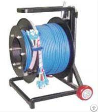 mobile pre terminated armoured cable reel