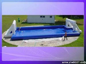 Inflatable Football Pool, Swimming Pool Games, Water Football Game